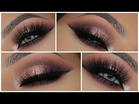 Glamorous Pink Metallic Smokey Eye | Amys Makeup Box