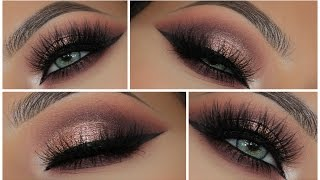 Glamorous Pink Metallic Smokey Eye | Amys Makeup Box