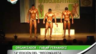 preview picture of video '0619 FABIAN FERNANDEZ   14º edición del Reconquista Muscle&Fitness'