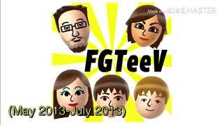 FGTeeV Intro History (2013-present)
