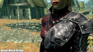 Skyrim Mod Spotlight: Blood Witch Armor and Breezehome Basement
