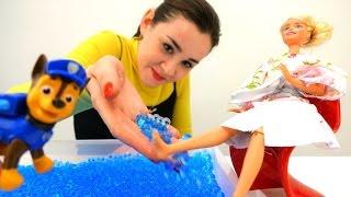 Куклы #Барби и МонстрХай: Происшествие в бассейне! #Игры для детей #Игрушки ШарикиОрбис БюроНаходок