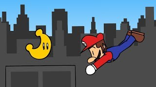 Super Mario Odyssey - Mario Tries to Get a Moon (Animation)