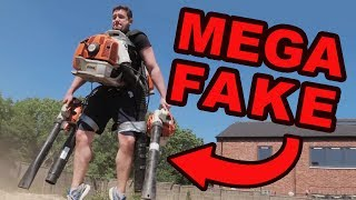 Crazy Youtuber Builds Homemade Jetpack