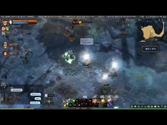 Tree of Savior Max Level Grinding Schwarze Reiter Gameplay
