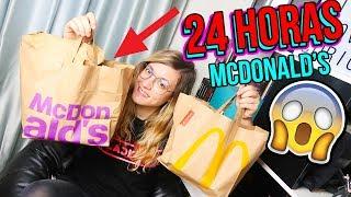 24 Horas Comiendo En Un McDonalds - I Ate ONLY MCDONALDS Food For 24 HOURS - Laury What