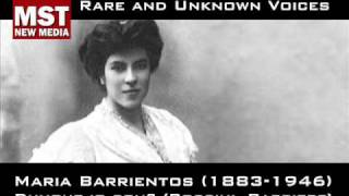 Part III: Rare and unknown voices - MARIA BARRIENTOS