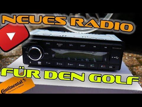 Vw Golf 2 neues Radio von Continental / Hifi upgrade Teil 1
