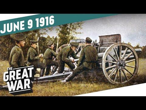 Arabské povstání a Brusilovova ofenzíva - Velká válka