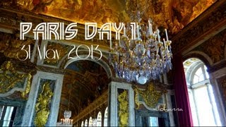preview picture of video 'Travel Vlog - Paris Day 1'