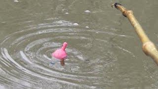 РЫБАЛКА НА БАМБУКОВУЮ УДОЧКУ ИЗ ПРОШЛОГО! Ловля в мае на реке СИБИРИЯ