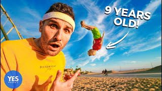 A 9-Year-Old Taught Me How To Backflip in 72hrs