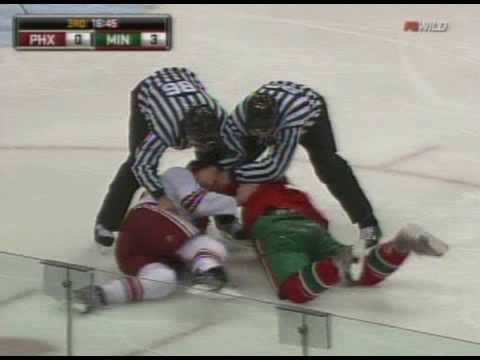 Cal Clutterbuck vs. Keith Yandle