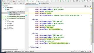 CS 453 Android Custom Content Providers