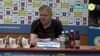 Tisková Konference Domácího Trenéra Po Zápase Teplice - Boleslav (15.2.2019)