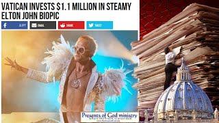 Vatican Invests $1.1 M in Steamy Elton John Biopic