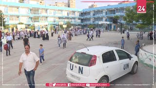 Gaza children return to school despite virus fears