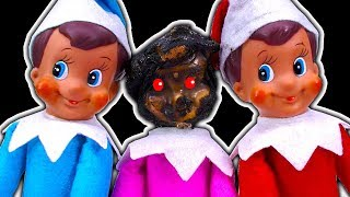 Elf On The Shelf Dark Side  A Twisted Christmas Tradition & TROUBLE