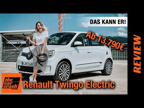Renault Twingo Electric (2021) So viel Elektroauto gibt's ab 13.790€! ⚡ Fahrbericht   Review   Test