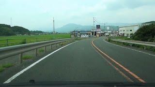 国道56号 上り その2 愛媛県伊予市→内子町→大洲市