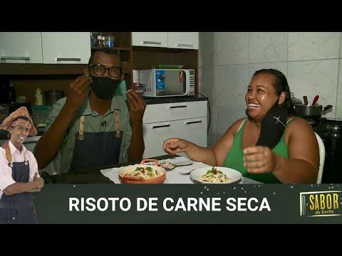 Ô de Casa com Risoto de Carne Seca preparado pelo chef Rivandro França