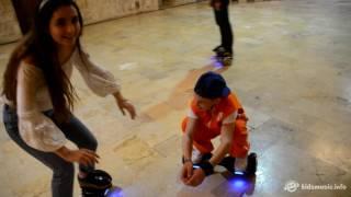 Детское Евровидение 2016: Аня Тринчер и гироскутер