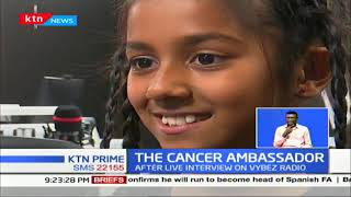 The Cancer Ambassador: 9 year old shaves head in solidarity with cancer patient
