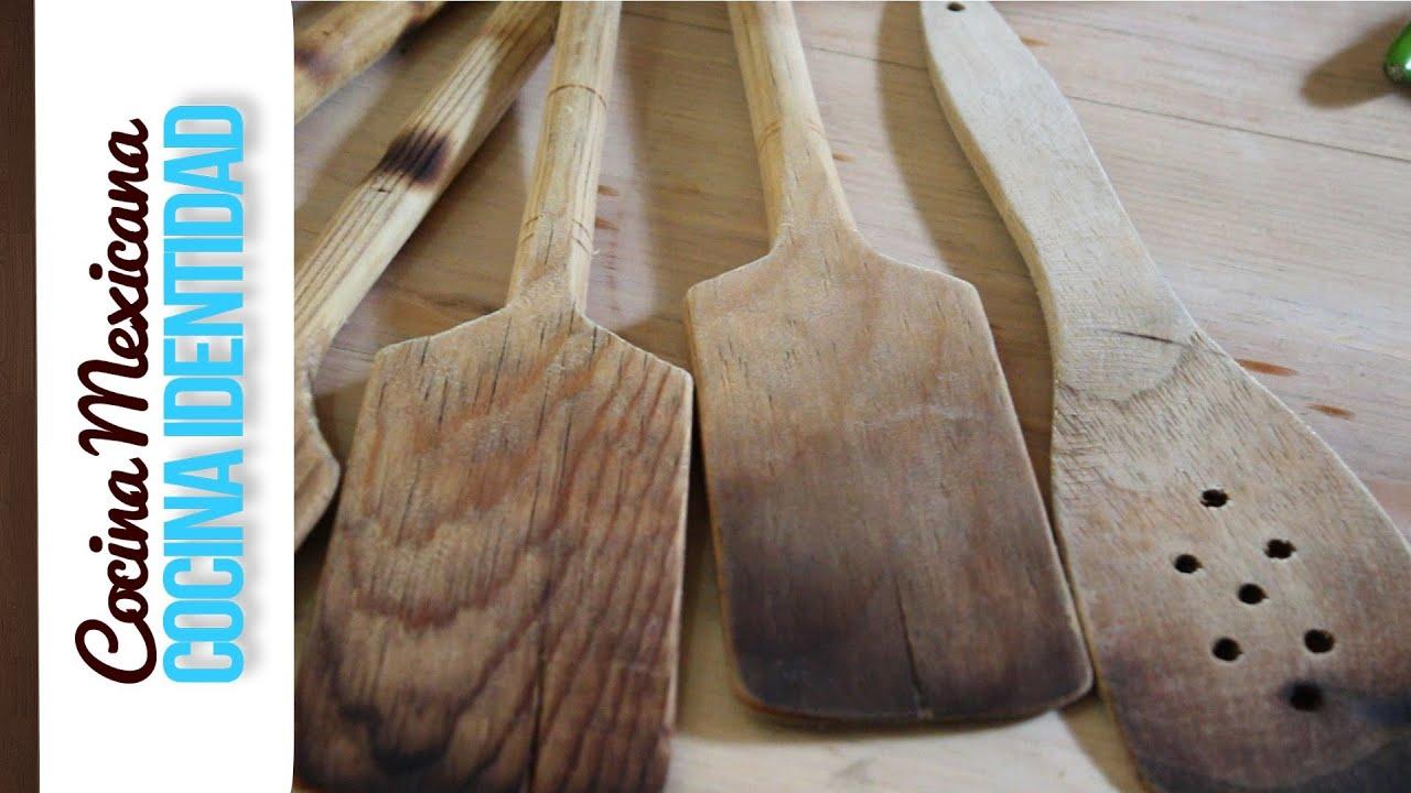 ¿Cómo cuidar las palas de madera? Secreto de Cocina, Yuri de Gortari