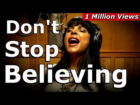 My cover of Don't Stop Believing with over 1.3 million views!