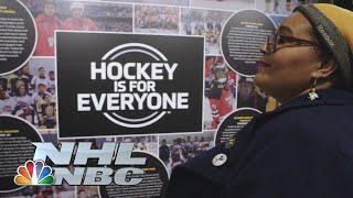 Black Girl Hockey Club Fostering Fan Inclusivity, Support In NHL | Hockey Culture | NBC Sports