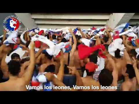 """""""Cánticos de la barra Ultra Fiel Honduras. 🎺vamos los leones, vamos los leones🔵⚪🔴"""" Barra: La Ultra Fiel • Club: Club Deportivo Olimpia • País: Honduras"""