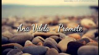 Ana Vilela - Promete🎶 (letra)