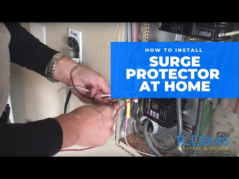 How To Install A Whole House Surge Protector   TL Davis Electric & Design
