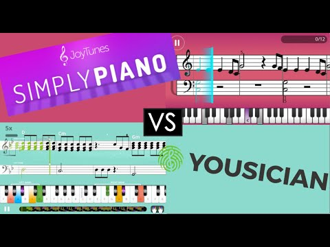 Yousician vs Simply Piano: Review and Comparison of Premium Editions