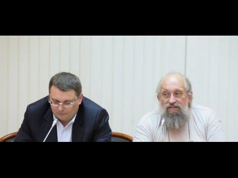 Евгений Федоров и Анатолий Вассерман: встреча с блоггерами