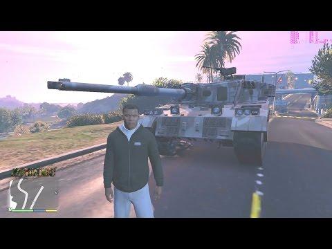 GTA V Tank Rhino on PC [1080p 60]