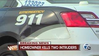 Detroit homeowner kills two intruders