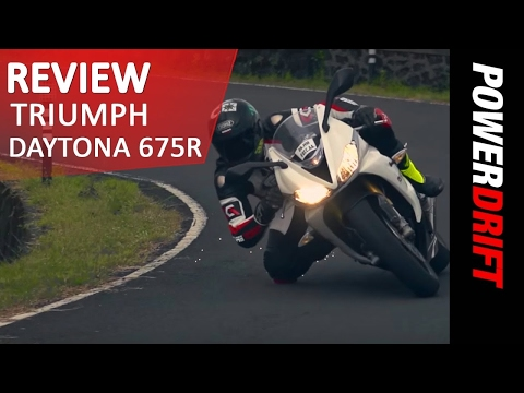 Triumph Daytona 675R Review l PowerDrift