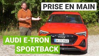 AUDI e-TRON Sportback : on a testé le SUV COUPÉ électrique