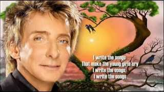 Barry Manilow + I Write The Song + Lyrics/HQ