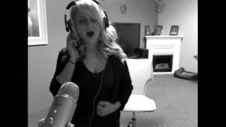 """Ellen, here's my talent :Singing """"Walk Away"""" Christina Aguilera (Cover by Stephanie)"""