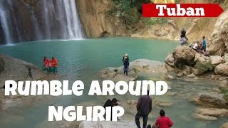 preview picture of video 'The Beautiful of Nglirip Waterfall - Tuban - East Java'