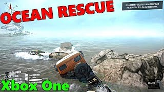 SpinTires Mud Runner: Xbox One, MOST DIFFICULT RESCUE EVER!?