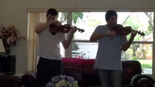 Shut Up and Dance, Walk the Moon, violin duet cover