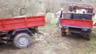 preview picture of video 'MAR Diana90R rimorchia MAR Diana 90 impantanata nel fango'