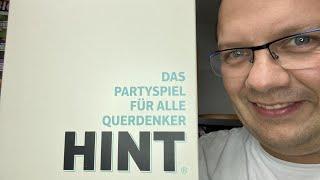 Hint (asmodee) - Das Partyspiel für alle Querdenker - Überblick und Fazit - ab 15 Jahre