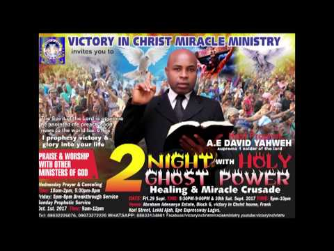 VOICE Of VICTORY SALVATION IS A BIG DEAL PROPHET A E DAVID YAHWEH DoN SUPREMO 1 soldier of lord
