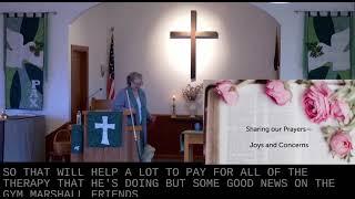 Worship in Church – 3/7/2021