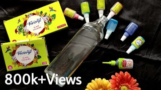 Glass Bottle Painting | Mixing Of Glass Colours | DIY Bottle Art | Kashmira Art | Episode 48