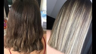 DOING BALAYAGE HAIR AT HOME FOR THE FIRST TIME